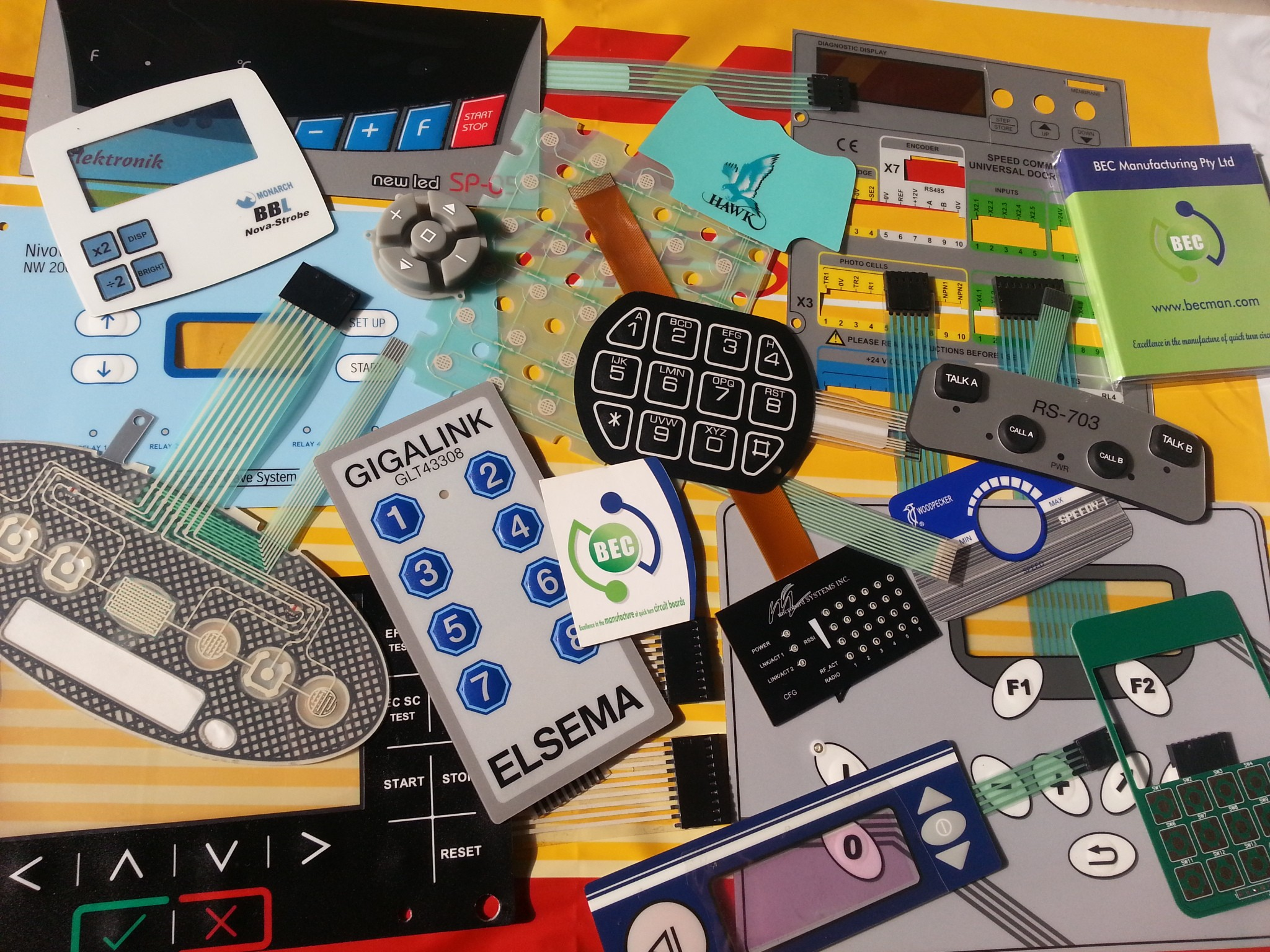 Bec Manufacturing Printed Circuit Board Company Circuitboardfabricationcompany Offers Prototype Quantities Of Custom Made Membrane Switches Various Builds To Help You Make Your Projects Have A Professional Look Now